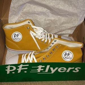 Mustard Yellow Hightop PF Flyers